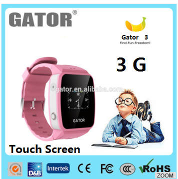 2017 3G new design wholesale 3G Android kids gps tracker Smart Watch With SIM Card Slot