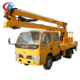 bucket boom high altitude operation telescopic bucket truck