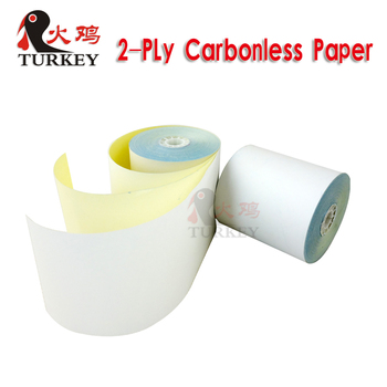 2 ply bond paper rolls 76x76 NCR roll paper