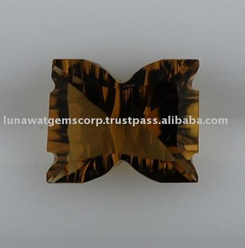 Whisky Quartz Lite Concave Bow 11x9mm LF050 WQ