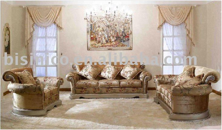 De lujo de estilo rural franc s b49167 living room - Muebles estilo country ...