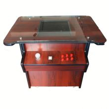 19 inch lcd-scherm 680 games Pandorabox 4 S rode houten cocktail tafel top joystick <span class=keywords><strong>arcade</strong></span> amusement gaming <span class=keywords><strong>machine</strong></span> voor 2 spelers