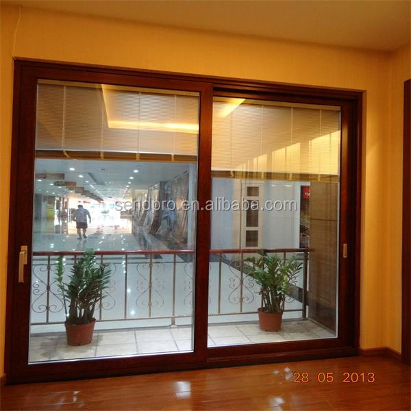 alta calidad grande de aluminio balcn puerta corredera de corredera disea para los