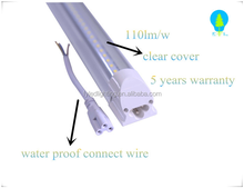 59'' 120degree T8 Integrated LED Tube Light - CW(frosted/clear cover) 5500K with connected live
