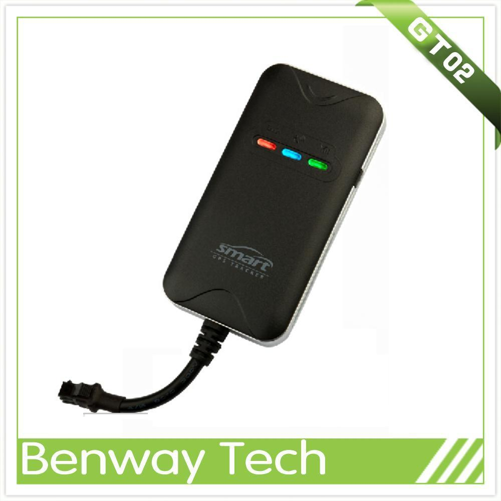 The worldwide lightest gps sms gprs car tracker vehicle tracking system with engine cut off function GT02D