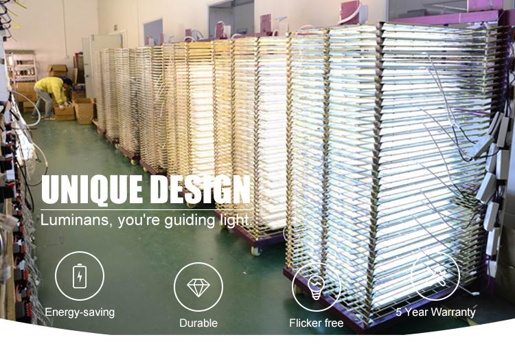 2020 LED panneau lumineux 40W haute qualité panneau plat lampe 600X600 carré en aluminium plafonnier panneau lumineux pour intérieur