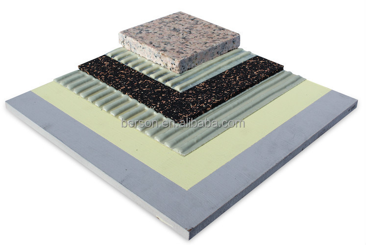 Eco Rubber Foam Soundproof Underlay For Carpet Or Ceramic Tiles ...