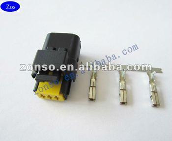 2 way black sicma fci auto electrical wire harness connector buy