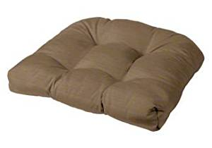 """Tufted Chair Cushion 