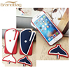 Factory wholesale leather mobile phone cases back cover for Apple iphone 6 Case cute shark model phone case for iphone