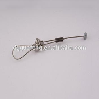 pvcpepunylon gecoat staal opknoping staaldraad veersysteem opknoping kabel voor verlichting