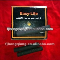 Pure nature raw bamboo finger charcoal