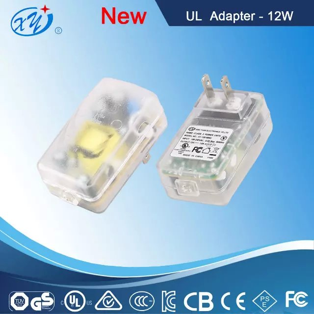 Hot Sale adapter,transparent color power adapter For a variety of devices