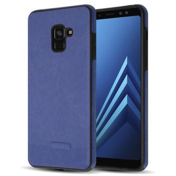samsung galaxy a8 2018 leather case