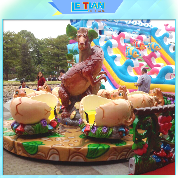 Playground Equipment Kids Rotating Coffee Cup Rides for sale
