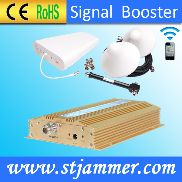 Mobile Phone Amplifier CDMA450MHz Coverage 500sqm with Antenna