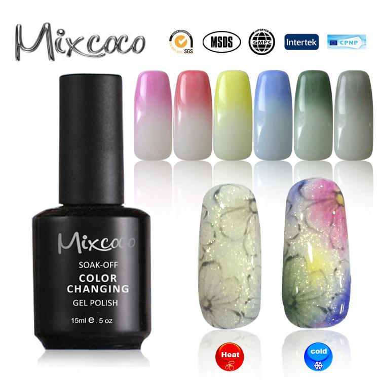 Mixcoco Uv Polaco Gel Nail Salon Belleza Diseños Profesional Gel ...