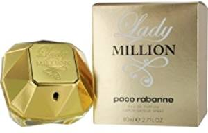 Paco Rabanne Lady Million Eau De Parfum Spray 2.7 Oz By Paco Rabanne - Paco Rabanne Lady Million By Paco Rabanne Eau De Parfum Spray 2.7 Oz For Women