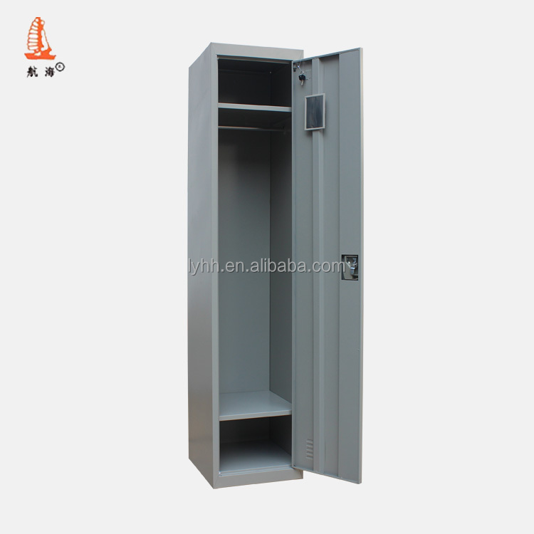 1 Door Army Steel Hanging Clothes Wardrobe Cabinet/cheap Single Door Metal  Military Wall Locker With Hanging Rod & Two Shelves - Buy Military  Locker,Hanging ...