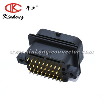34 pin male waterproof type cable connectors 2-6447232-3 2-1447232-3
