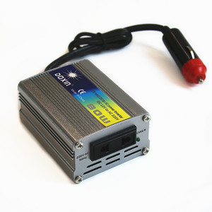 OEM DC/AC 80W Modified Sine Wave Inverter DC12V to AC110V/AC220V Micro Car Power Inverter
