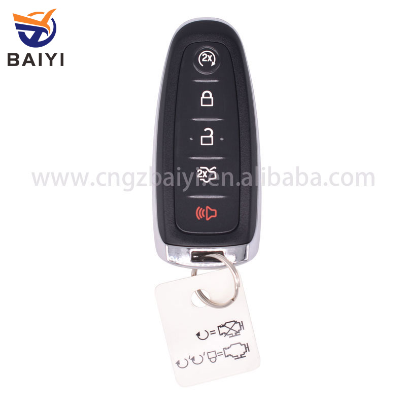 Smart Remote Key For  Ford Edge W Engine Start  Buttons With Chip D Mhz