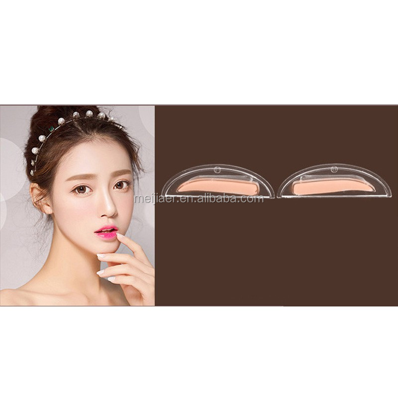 2017 New Eyebrow Stamps Makeup Brow Stamp Beauty Tools (No including powder palette)