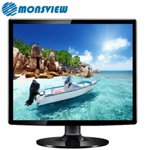 Montaje en pared OEM 15 pulgadas TFT Color LCD Plaza <span class=keywords><strong>Monitor</strong></span> 12 V 12 V