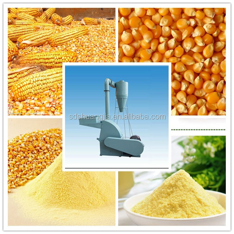 lower noise corn hammer mill for sale,animal feed crusher,hammer mill crusher with high performance
