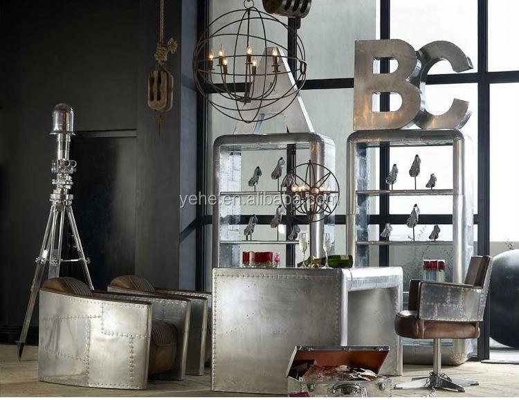 Living room antique furnitureaviator professor chair with wheels