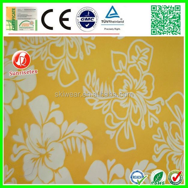 kinds of poly dupion fabric for cloth t-shirt