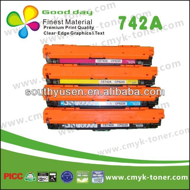 Compatible Toner 740 741 742 743 For Hp Color Laserjet 5225 9100 ...