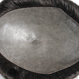 Hair Wigs For Men Price Natural Wave Men Toupee Base Size 6 Inch Mono Lace Wigs 100% Malaysian virgin Hair