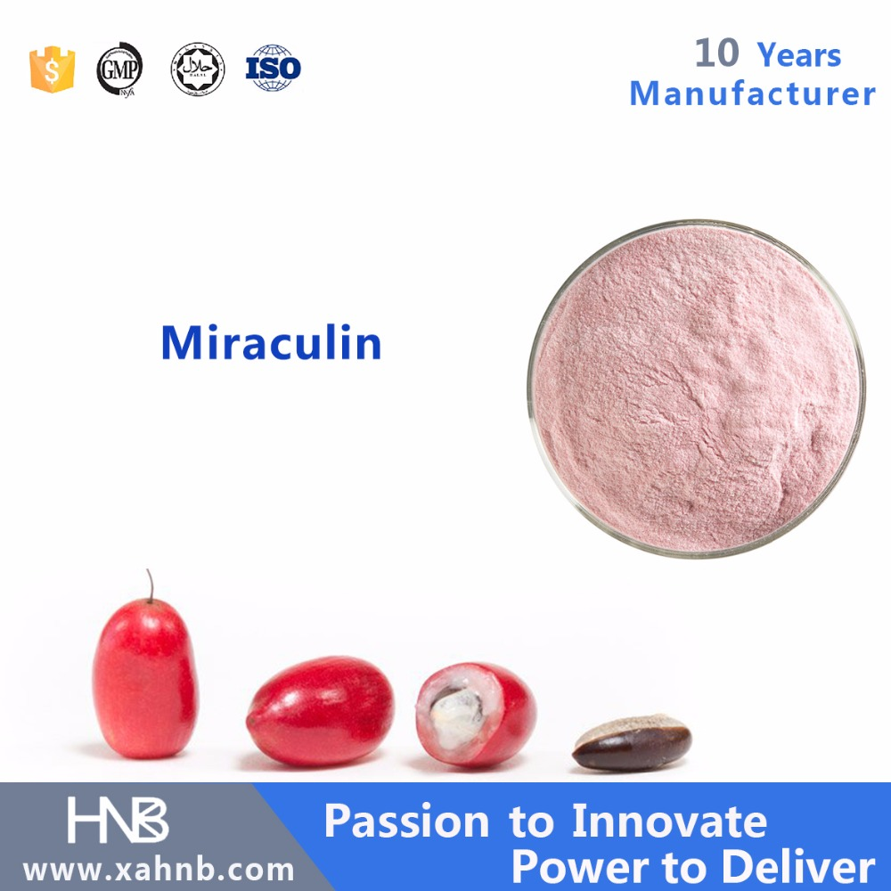 Wholesales Miraculin from miracle fruit with free sample