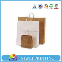 2015 Guangzhou Manufacturer Customized New Arrival cosmetics packing paper bag Manufactuerer