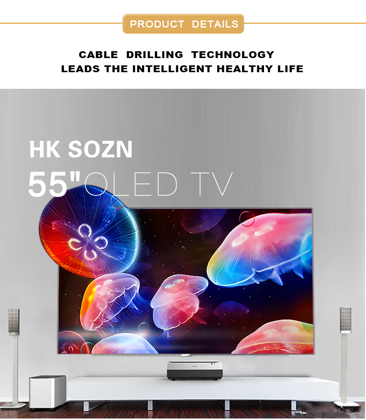 Sozn novíssimo monitor oled multifunções 55 polegadas 4 k led tv android oled tv smart tv