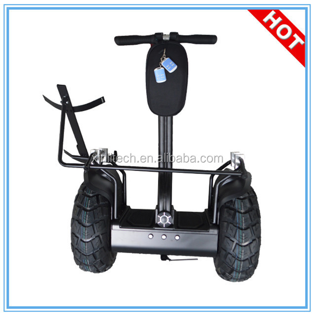 Remote control battery powered golf trolley