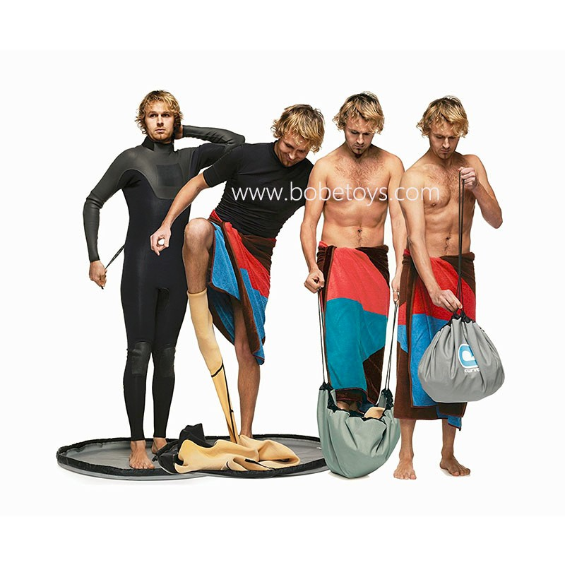 surf wetsuits collapsible bucket/Change mat for Wetsuit