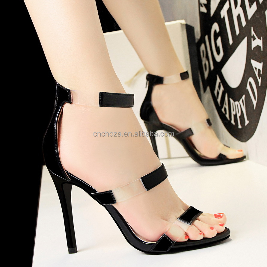 Z80584E wholesale aliexpress hot sale women stilettos bandage high heel shoes