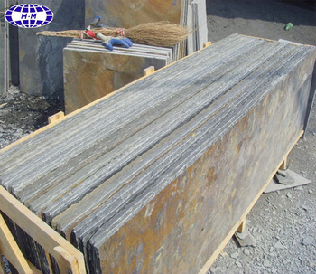 China Nature Rusty Slate Slabs For