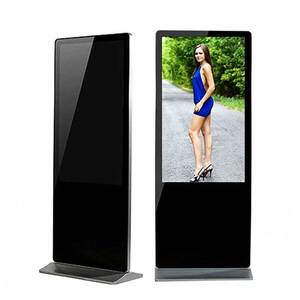 55 Inch Touch Screen Advertising Floor Standing Kiosk Digital Signage