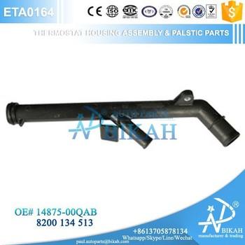 14875-00QAB/8200-134-513 Engine Coolant Flange Thermostat Housing Assembly  PEUGROT