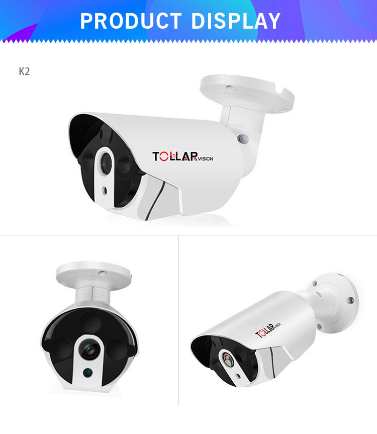 2018 1080P New Design Hot Selling factory security camera system AHD DVR kit