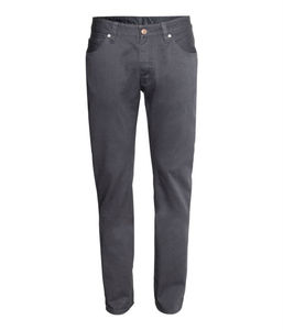 Twill balloon fit pants for men