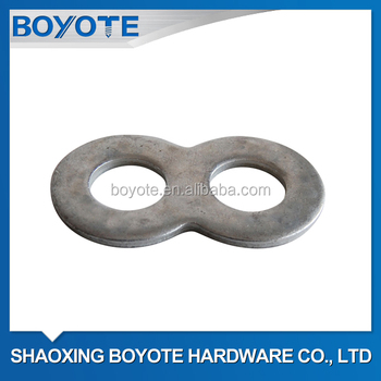 Double Hole Plain Washers