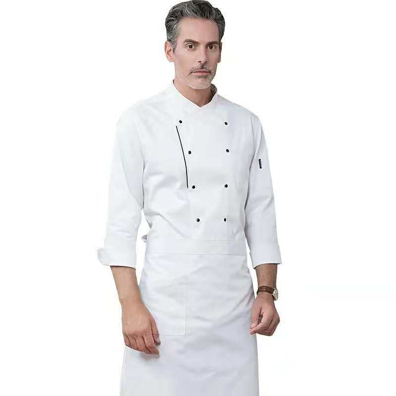 OEM 100% Katoen Restaurant Chef Uniform