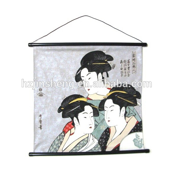 Japanese style interior overseas souvenirs hanging scroll painting