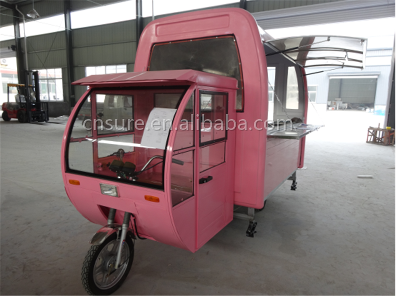 street food vending cart food tricycle cart for sale scooter food cart