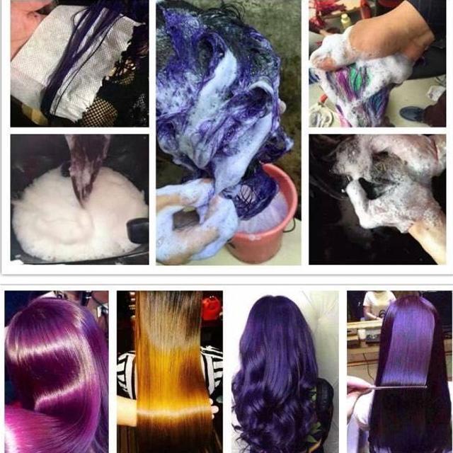 OEM/ODM 500ml Korea Quality Semi Permanent Hair Color Manicure