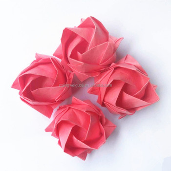 Elegant Handmade Mini Paper Craft Rose Flower